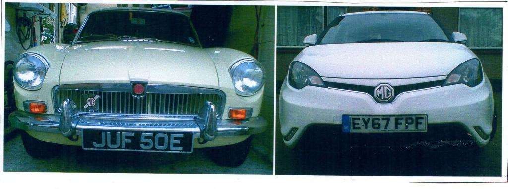 MGB on a 67 Plate MG3 on a 67 Plate