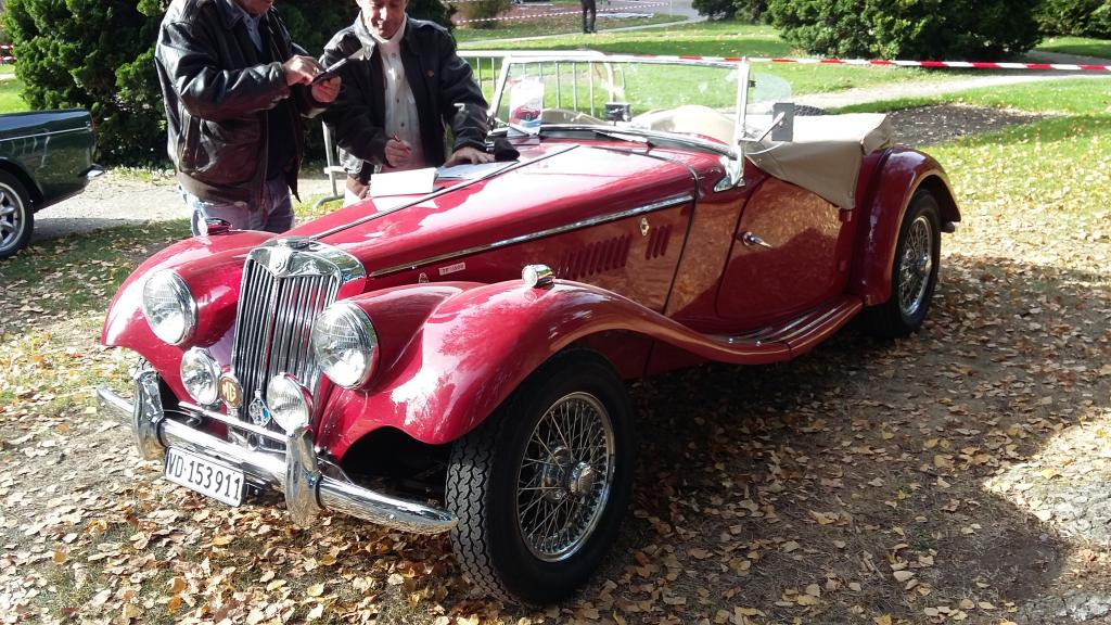 a MG TF 1500 seen at Morges 2017