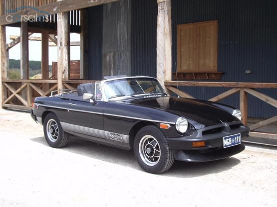 My MGB in Adelaide South Australia